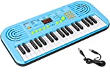 M SANMERSEN Keyboard Piano for Kids, 37 Keys Piano Led Screen Display Electronic Keyboard Piano for...