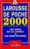 Le Larousse de Poche 2000 9782035322258