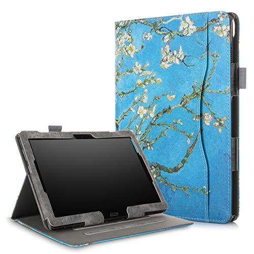 (XBE Multifunctional Case for Lenovo Tab M10 X605F / P10 X705F with Multiple Viewing Angles,Flower)