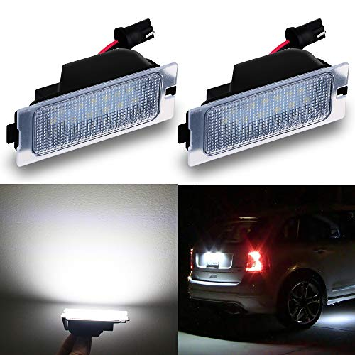 - Alla Lighting CANBUS Super Bright LED License Plate Light Lamp Assembly Replacement for 2007-2014 Ford Edge, 2008-2012 Escape, 2008-2011 Mercury Mariner, 6000K Xenon White