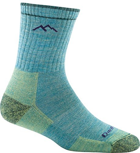Socks Junior Trail (Darn Tough Cushion Boot Socks - Women's Plum Heather Medium)