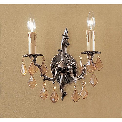Classic Lighting 5752 AGB IRA Parisian Sconce with Wall Bracket