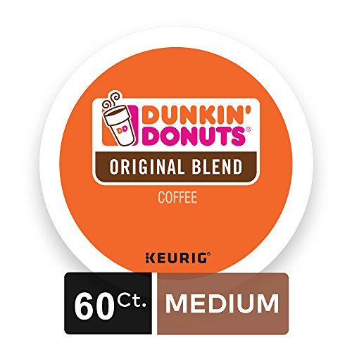 Large Product Image of Dunkin' Donuts Original Blend Coffee for K-cup Pods, Medium Roast, For Keurig Brewers, 60 Count