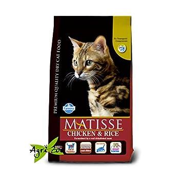 Farmina Matisse – Pollo y Arroz, para gatos, 10 kilos: Amazon.es: Productos para mascotas