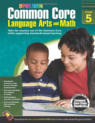 Common Core Language Arts and Math, Grade 5 (Spectrum)