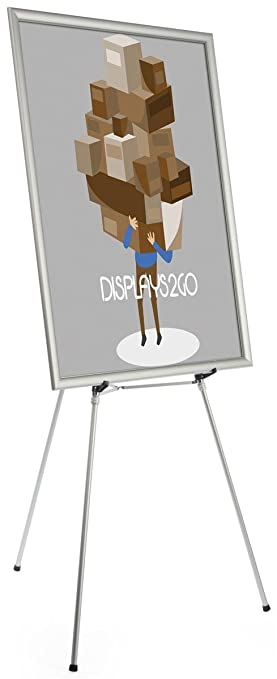 Amazon.com: Floor Easel for Art or Display, Adjustable Height, with ...