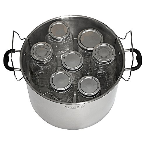 Victorio Stainless Steel Canning- Flat Rack VKP1056 Bundled with Jar Dividers Rack VKP1057 by Victorio Kitchen Products (Image #6)