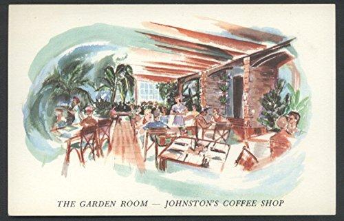 Johnston's Coffee Shop Garden Room Daytona Beach FL Interior Restaurant - Daytona Shops Beach