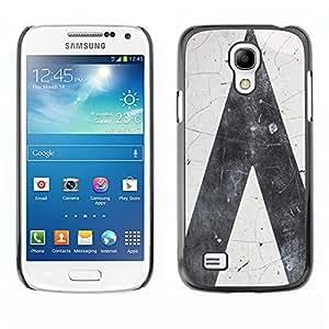 [Neutron-Star] Snap-on Series Teléfono Carcasa Funda Case Caso para Samsung Galaxy S4 Mini i9190 (NOT S4) [ Grigio]