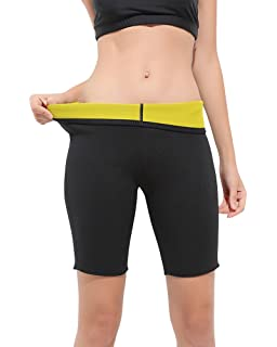3459578ada3ba Womens Slimming Neoprene Hot Thermo Long Pants Yoga Sweat Body Shapers  Sauna for Weight Loss