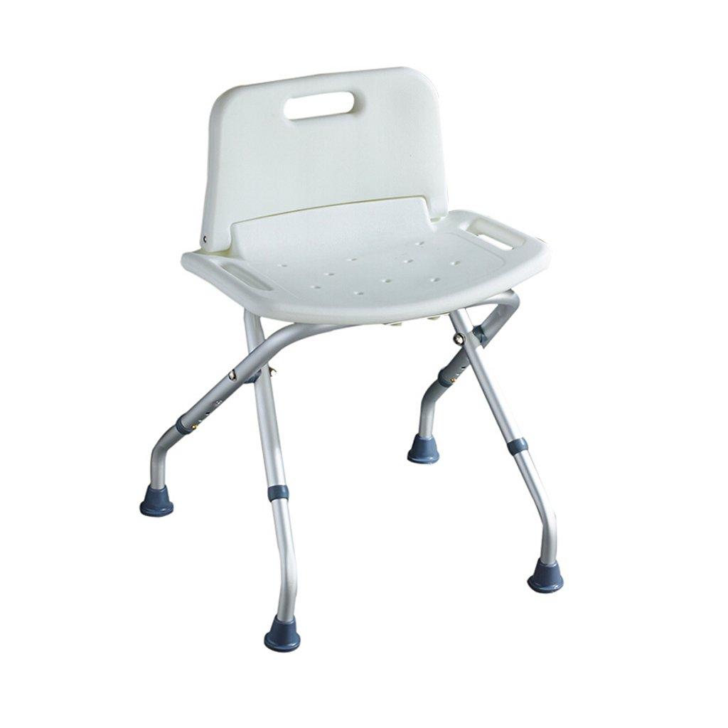 LXN 折り畳み式軽量高さ調節可能シャワーチェア - 高齢者、妊婦、障害者に適用   B07D7MLG3T