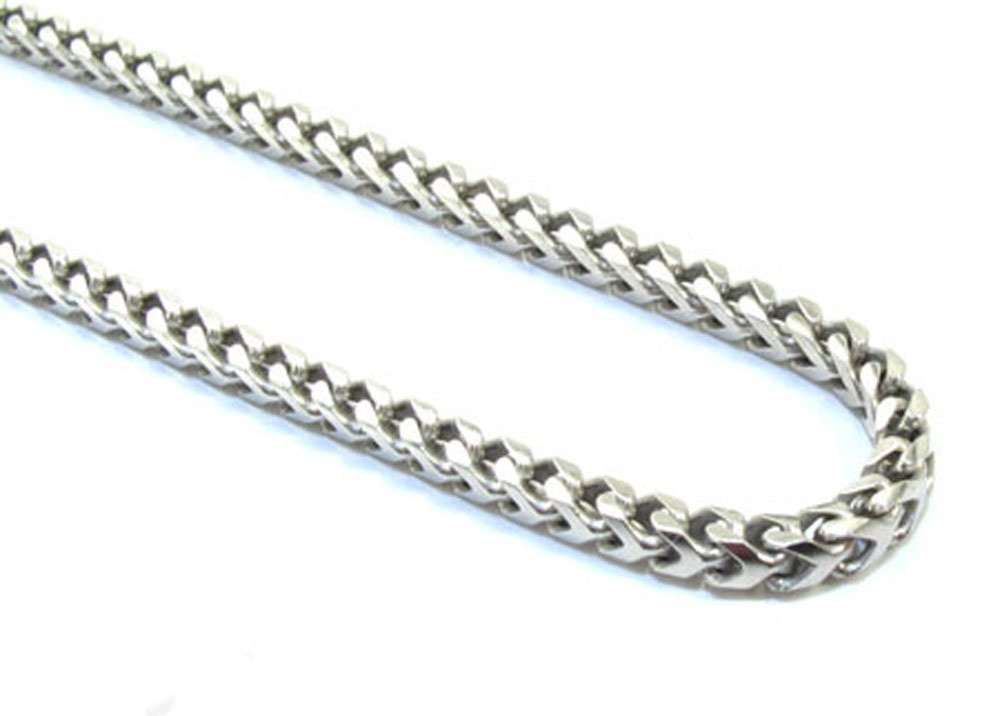 2mm 925 Sterling Silver Mens 30 Inch Chain Necklace with Lobster Lock Clasp