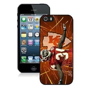 NFL Kansas City Chiefs iPhone 5 5S Case 068 NFLIPHONE5SCASE988 by kobestar
