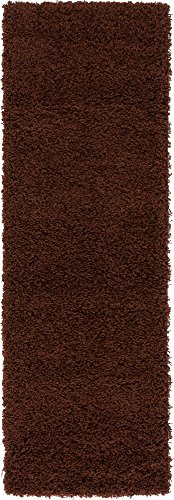 """A2Z Rug ( 60x230 cm ( 2ft x 7ft 8"""") Runner Chocolate for sale  Delivered anywhere in Canada"""