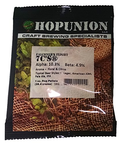 Price comparison product image Hopunion US Hop Pellets for Home Brew Beer Making (US Falconer's Flight 7 C'S)