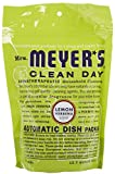 Best Mrs. Meyers Clean Day Mrs. Meyers Organic Cleaners - Mrs Meyers Clean Day Auto Dish Packet Lemon Review