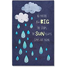 American Greetings I'm Here Care and Concern Greeting Card with Glitter (5760202)
