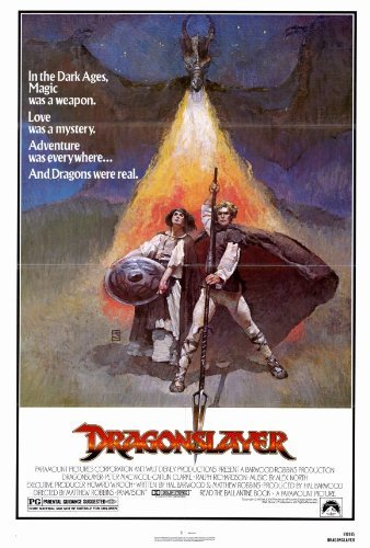 Dragon Slayer Poster - Dragonslayer POSTER Movie (27 x 40 Inches - 69cm x 102cm) (1981)