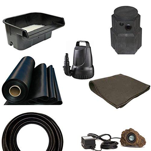 Patriot Pondless Waterfall Kit Anjon Pondbuilder 3200 GPH Pump 10 x 15 PSH4 - Pondless Kit