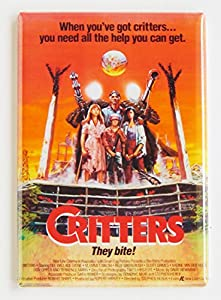 Critters Movie Poster Fridge Magnet (2 x 3 inches) style-b by Blue Crab Magnets