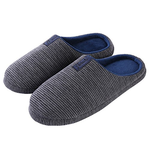 Blue House on Women's Aerusi Slippers Slip Men's Trento Gray TtqXxwz0