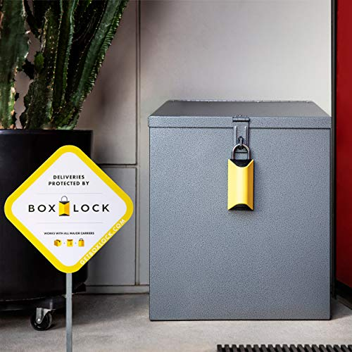 BoxLock Package Delivery Lock - Protect Packages from UPS, USPS, FedEx, and More by BoxLock (Image #3)