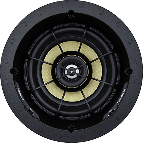 "SpeakerCraft Profile AIM7 Five 7"" In-Ceiling Speaker (Each) Black ASM57501"