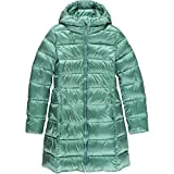 ADD Long Down Jacket - Girls' Mineral Blue, 10