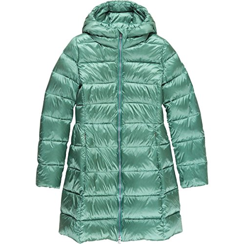 ADD Long Down Jacket - Girls' Mineral Blue, 10 by ADD
