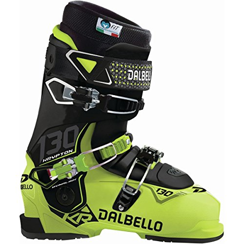 Dalbello Krypton Ski Boots (Dalbello Sports Krypton 130 ID Ski Boot One Color, 25.5)