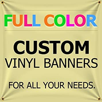 amazon com new 8 x30 custom full color vinyl banners indoor