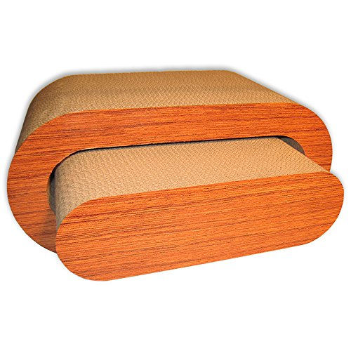 Premium Cat Scratcher Two in One Lounge Bed