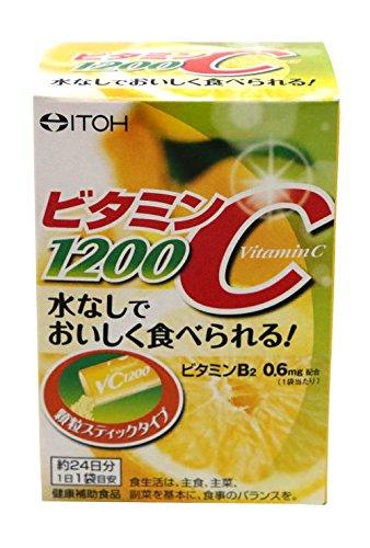 井藤漢方製薬 ビタミンC1200 約24日分 2gX24袋×60箱/ケース B00RF2PKRO