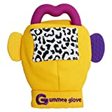 Brand new Gummee Glove with heart-shaped silicone teething ring Bild