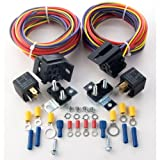 JEGS 10566 Dual Fuel Pump Harness and Relay Kit
