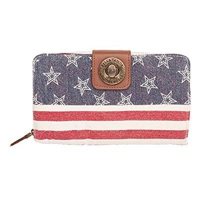 Bella Taylor Wallets & Wristlets - Madison White Cash System Wallet