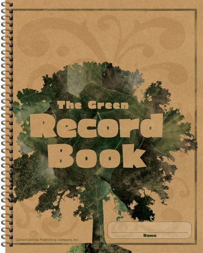 Carson Dellosa The Green Record Book Record/Plan Book - Maryland Stores Outlet