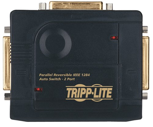 Tripp Lite B170-002-R IEEE Reversible 2 Position 3xDB25F Gold AutoSwitch