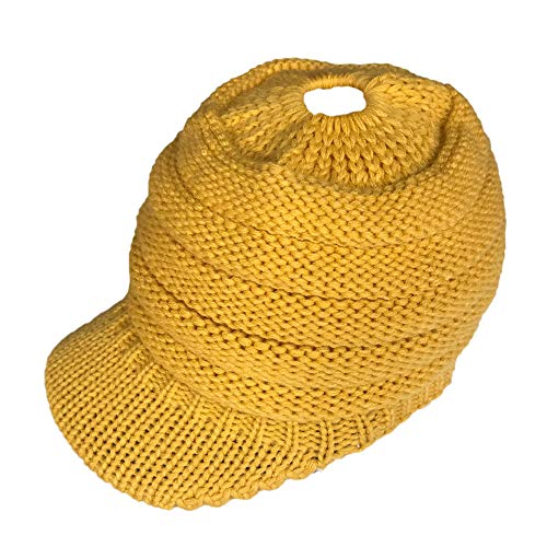 Byyong Women Casual Outdoor Knitted Hats Crochet Knit