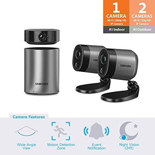 24' Surface Mount (SNA-R1120W - Samsung Wisenet SmartCam A1 Outdoor/Indoor Home Security Camera)