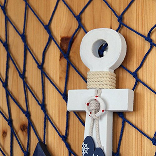 WINOMO-Wooden-Anchor-Wall-Hanging-Ornament-Nautical-Marine-Decoration