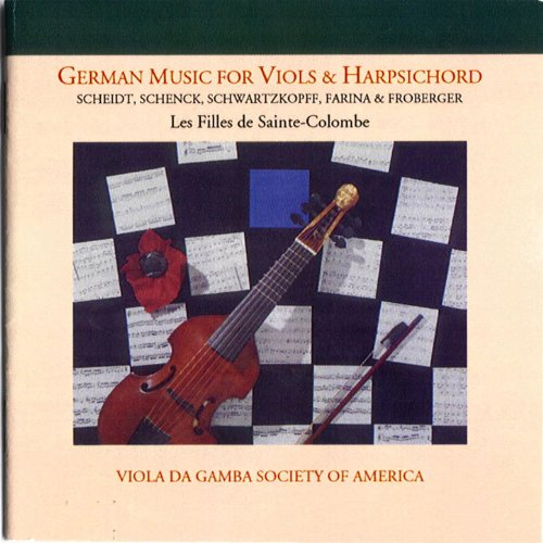 (German music for Viols and Harpsichord)