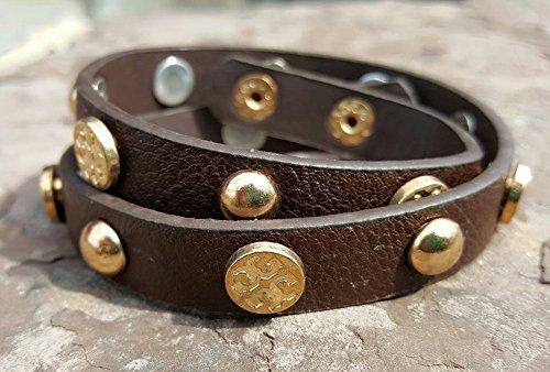 Bella Cuff Double Wrap Cuff Bracelet rustic style - Shamballa Wrap Bracelet