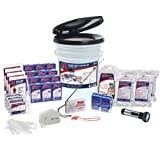 QuakeKare 4 Person Deluxe Home Survival Kit