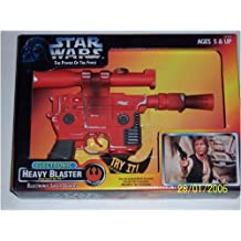 Kenner Star Wars Power of the Force Electronic Heavy Blaster BlasTech DL-44 with Electronic Laser Sounds