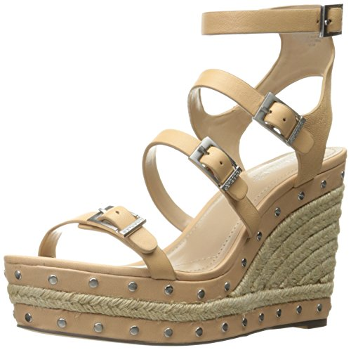 David Charles Wedge by Sandal Larissa Women's Charles Nude OBw4nxqqP