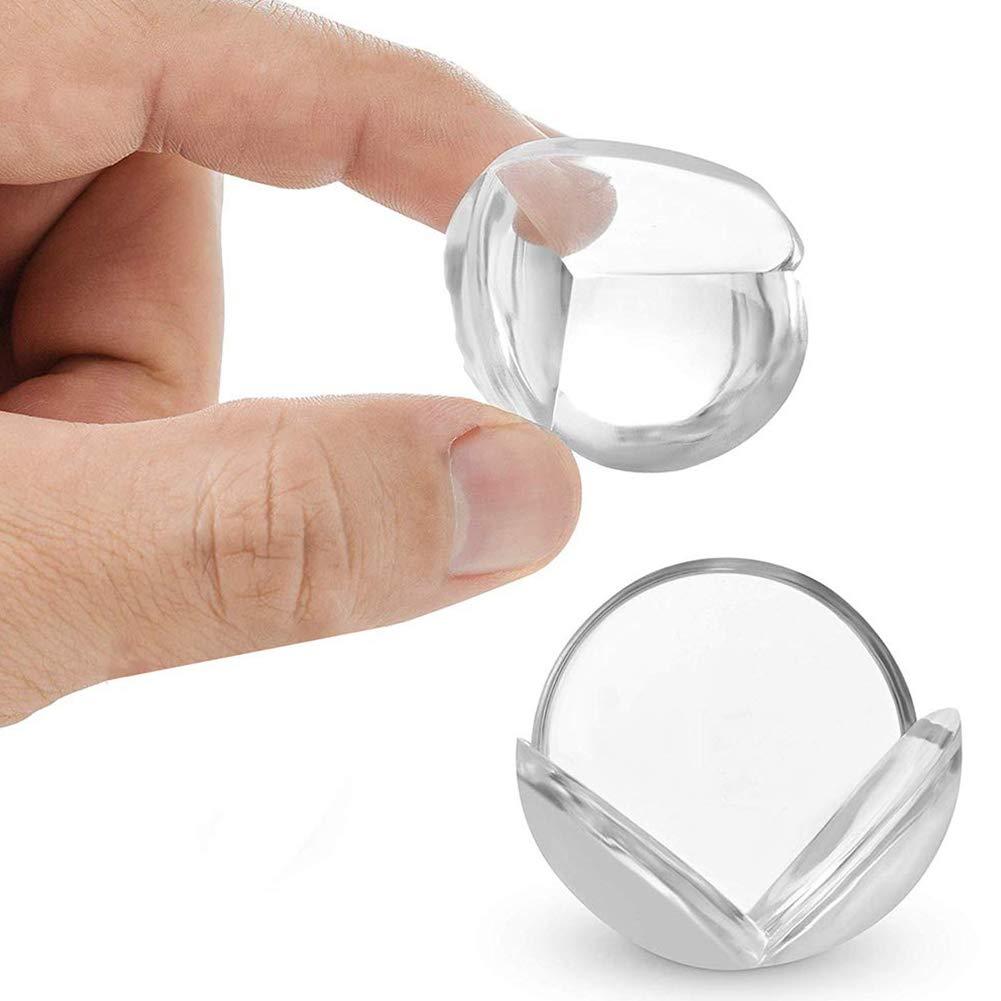 Souple Protections Transparent B/éb/é de S/écurit/é Anti-Chocs Protecteur de Coins avec Rebords Arrondis pour Tables et Tout Meubles Pointus TAYLE Protection Coin de Table b/éb/é Protecteurs Dangles