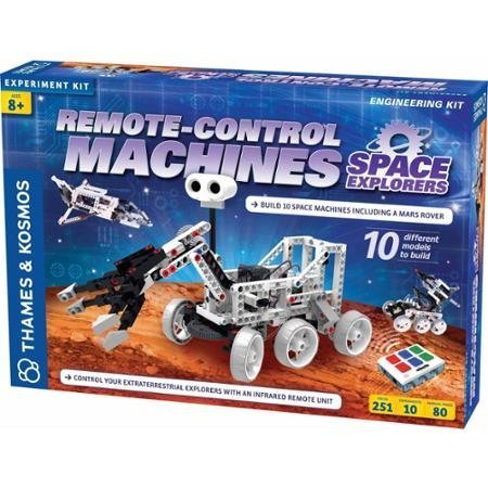 Thames and Kosmos Remote-Control Machines: Space Explorers Science Experiment Kit
