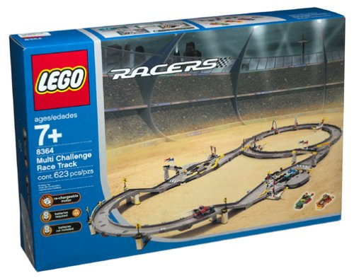 LEGO Racers: Multi-Challenge Race Track (8364) (Lego Racers Track)