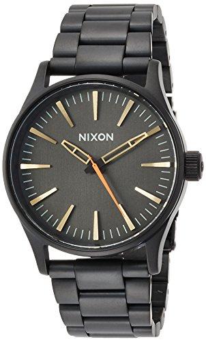 [ニクソン]NIXON SENTRY 38 SS: ALL BLACK/SURPLUS NA4501032-00